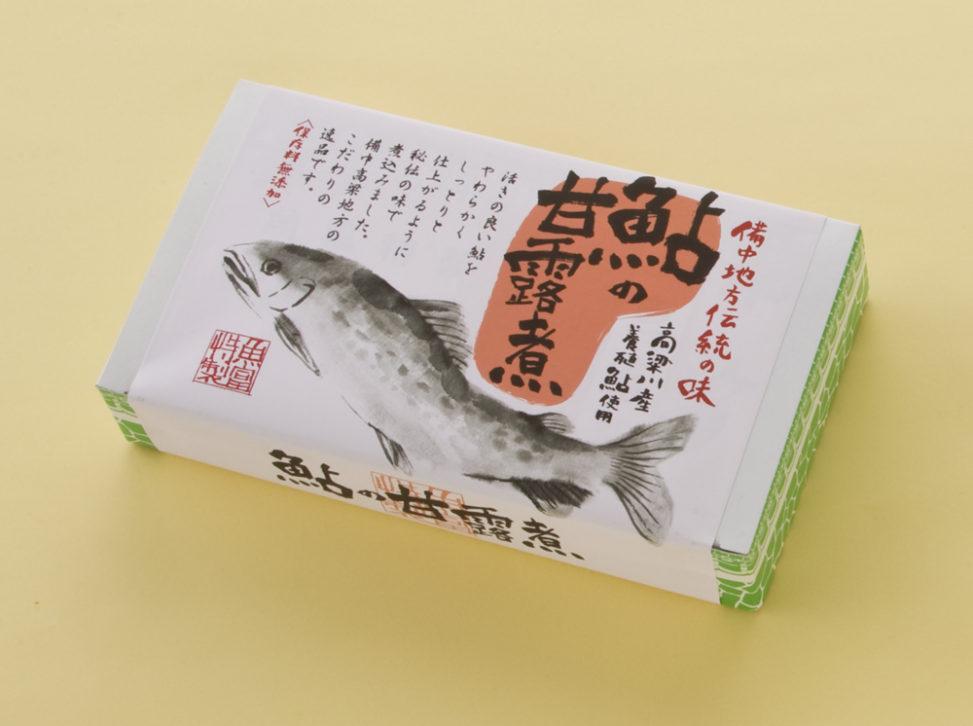 02鮎の甘露煮